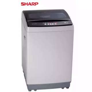 SHARP ESX705 7KG TOP LOAD WASHING MACHINE