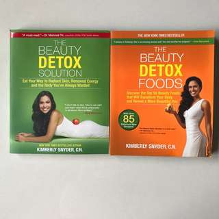 The Beauty Detox Foods + The Beauty Detox Solution (2 books)