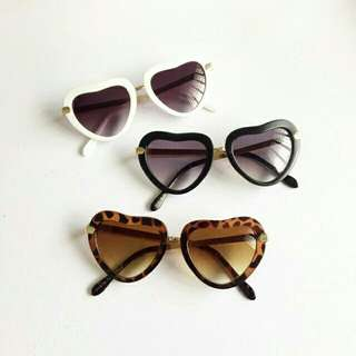 Heart shaped sunnies