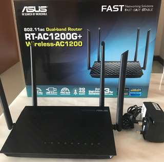 Asus Wireless Router AC1200g+