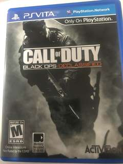 Call of Duty Ps vita game trade with walking dead or others