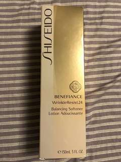 Shiseido benefiance wrinkle resist 24 balancing softener lotion (150ml)