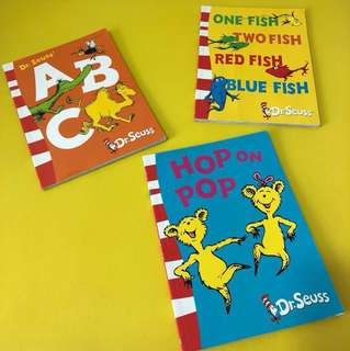 Dr Seuss Blue Back Books