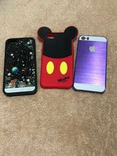 Case iphone 5/5s dapet 3 pcs