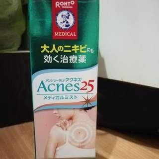 [ROHTO][KOBAYASHI] Acnes 25 Medicated Acne Mist 100ml/ Back Acne SPray 100ml