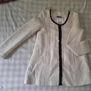 jaket tweed tebal