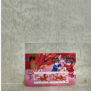 australia stamp-souvenir sheet
