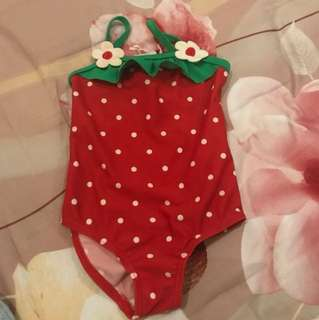 baju renang new born- 3 bulan