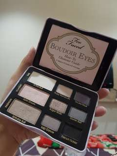 Too faced eyeshadow