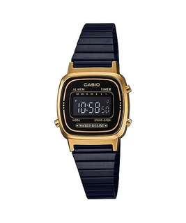 Bn Casio black metal Digital Watch LA670WEGB