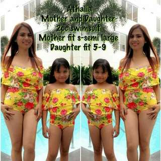 Mother Daughter Terno👸👧