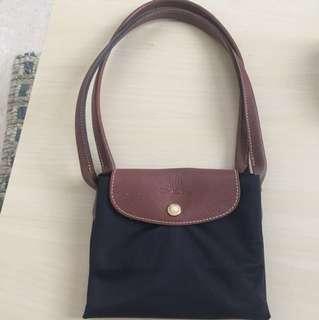 Authentic Longchamp Big Black Bag