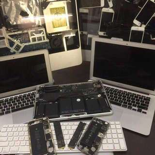 repair service MacBook iMac iPhone laptop desktop