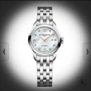 Baume Mercier Clifton Ladies Watch