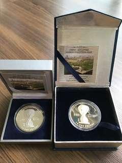 Singapore 2004 Suzhou Silver/Cu-Ni Coin