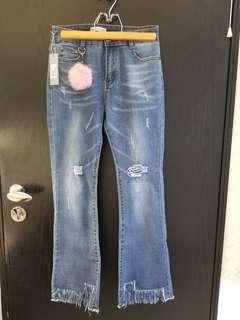 全新歐洲品牌牛仔褲