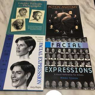 Facial Expressions Art Reference Books