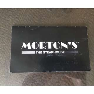 Morton's The Steakhouse $50 Gift Card