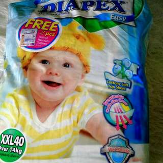 Pampers Drypers & Diapex