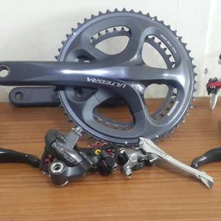 For Sale!!! Shimano Ultegra crank, shifter, fd, rd with colnago c brake...