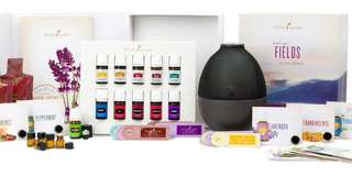 Young living premium starter kit - Rainstone Diffuser