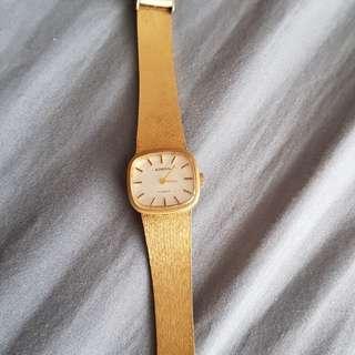 Amma Gold Watch