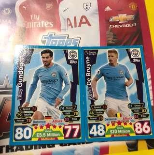 match attax cards trade