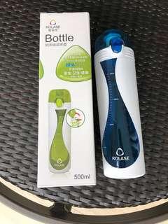 Rolase water bottle - blue 500ml