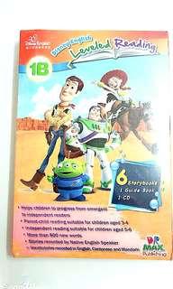 迪士尼英語家庭版 Disney English 6本故事書加1本Guide Book 加1 CD
