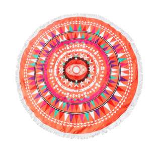 Round Beach Towel - Prophecy