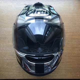 Arai RX-7RR5 - Joe Dunlop TT Racer - Chrome