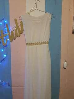 Long Dress White no brand