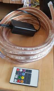 LED strip.multi color waterproof with remote