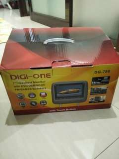 Jual Headrest Digi one like new