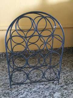 Wine Rack Wrought Iron