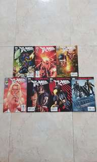 "X-Men Legacy Vol 1 (Marvel Comics 7 Issues; #213 to 218 plus Wolverine Origins #30; complete story arcs on ""Sins of the Father"" and ""Original Sin"")"