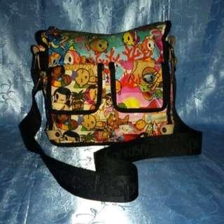 Missy's TOKIDOKI for LESPORTSAC Printed Nyloin Body Bag