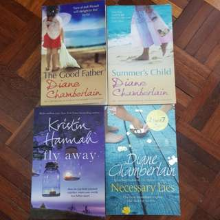English Fiction - Diane Chamberlain, Kristin Hannah, Emma Donoghue