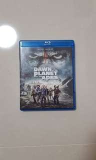 Dawn of the planet of the apes Bluray
