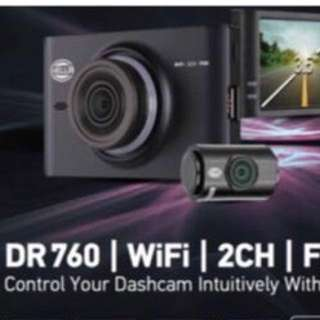 Hella 2 channel camera dr760 wifi