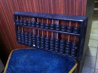 Vintage Retro Abacus Calculator