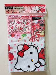 Hello kitty picnic mat