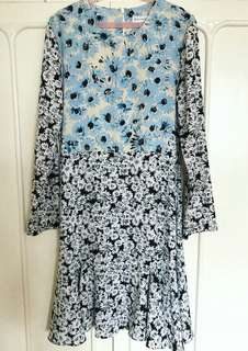 Warehouse floral dress