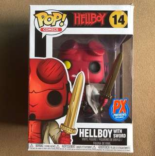Funko POP Hellboy with Sword