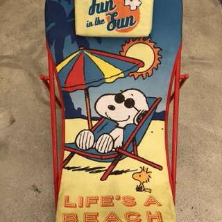 Snoopy Beach Recliner Seat