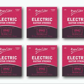Deviser Electric Guitar Strings [0942 Normal Light] - Buy 2 Free 1