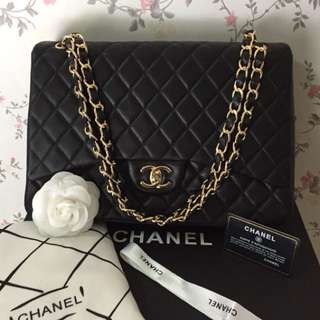 Chanel Maxi Flap Lambskin 💯SALE
