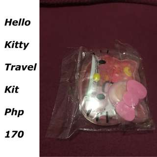 Hello Kitty Travel Kit