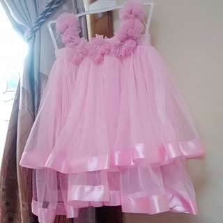 Dress Tutu anak Birthday Princess