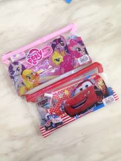 Children party goodie bag - stationary set